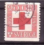 Sellos del Mundo : Europa : Suecia :  Centenario Cruz Roja
