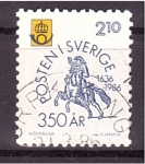 Stamps : Europe : Sweden :  350 aniv.