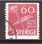 Stamps : Europe : Sweden :  300 aniv.