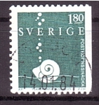 Stamps : Europe : Sweden :  Caracola