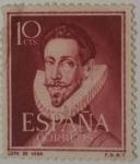 Stamps Spain -  España 10 ctvs