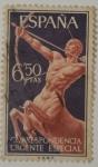 Stamps Spain -  España 6.50 ptas