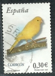 Stamps Europe - Spain -  Canario