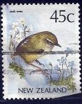 Stamps Oceania - New Zealand -  rocdk  wren (ave)