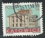 Stamps Europe - Poland -  Teatro de Katowice