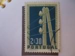 Stamps Europe - Portugal -  Poste Telegráfico - Telegrafía eléctrica en Portugal.