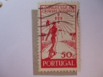Stamps Europe - Portugal -  Granjero - Congreso Agrícola