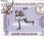 Stamps : Asia : Yemen :  OLIMPIADA INVIERNO GRENOBLE-68