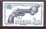 de Europa - Suecia -  50 aniv. creación U.N.