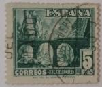 Stamps : Europe : Spain :  España 5 ptas