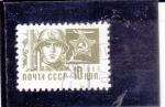 Stamps Russia -  SOLDADO