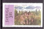 Stamps Sweden -  serie- Pintores suecos