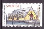 de Europa - Suecia -  serie- edificaciones suecas