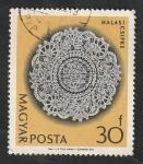 Sellos de Europa - Hungría -  1631 - Mantel de Halas