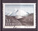 Stamps Sweden -  Montañas