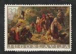Sellos del Mundo : Europa : Yugoslavia : 1557 - Cuadro de Uros Predic