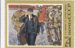 Stamps Russia -  PINTURA- LENIN