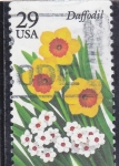 Stamps United States -  FLORES-