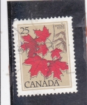 Stamps : America : Canada :  HOJAS