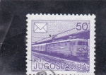 Stamps : Europe : Yugoslavia :  LOCOMOTORA