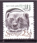 Stamps Sweden -  Animales vias de extinción