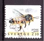 de Europa - Suecia -  Abeja