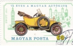 Stamps : Europe : Hungary :  COCHE DE EPOCA-
