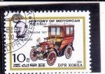 Stamps : Asia : North_Korea :  COCHE DE EPOCA