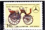 Stamps : Asia : North_Korea :  60 ANIVERSARIO MERCEDES BENZ