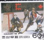 Sellos del Mundo : Asia : Corea_del_norte :  OLIMPIADA CALGARY'88