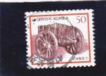 Sellos del Mundo : Asia : Corea_del_sur : CARRO