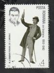 Sellos del Mundo : Europa : Rumania : 3440 - Ion Brezeanu, actor de teatro