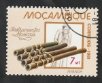 Stamps Africa - Mozambique -  799 - Nyanga, instrumento musical
