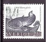 Stamps Europe - Sweden -  ADENA- Siluro