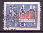 Sellos de Europa - Suecia -  Castillo en Gripsholm