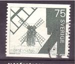 Stamps Europe - Sweden -  Molinos