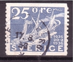 Stamps Europe - Sweden -  300 aniv.