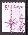 Stamps Europe - Sweden -  Compás Rosa de los Vientos
