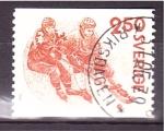 Stamps Sweden -  Juegos de Bandy