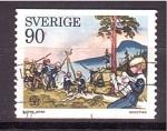 Sellos de Europa - Suecia -  Movimiento Scout