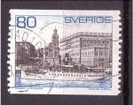 Stamps Sweden -  Puerto