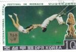 Stamps North Korea -  FESTIVAL INTERNACIONAL DEL CIRCO EN MONACO