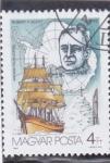 Stamps Hungary -  ANTÁRTICA- ROBERT  F. SCOTT