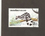 Stamps : Asia : Thailand :  Prionodon linsang