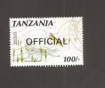 Stamps : Africa : Tanzania :  Pelicán blanco