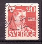Sellos de Europa - Suecia -  Viktor Rydberg