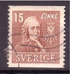 Sellos de Europa - Suecia -  Linné