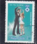 Stamps : Europe : Hungary :  OLIMPIADA SARAJEVO