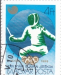 Stamps : Europe : Hungary :  OLIMPIADA CALGARY