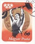 Stamps : Europe : Hungary :  OLIMPIADA MUNICH